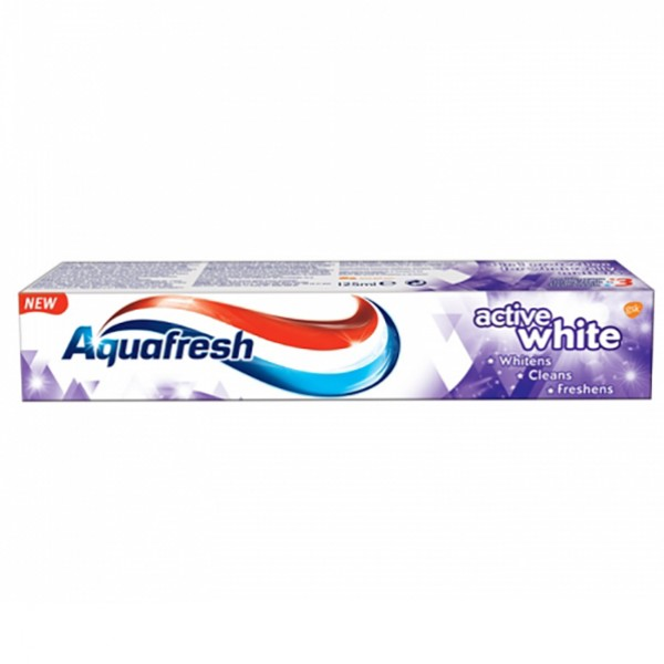 Aquafresh 125ml Active White