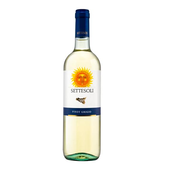 Settesoli Pinot Grigio 750ml 12.5% vol.