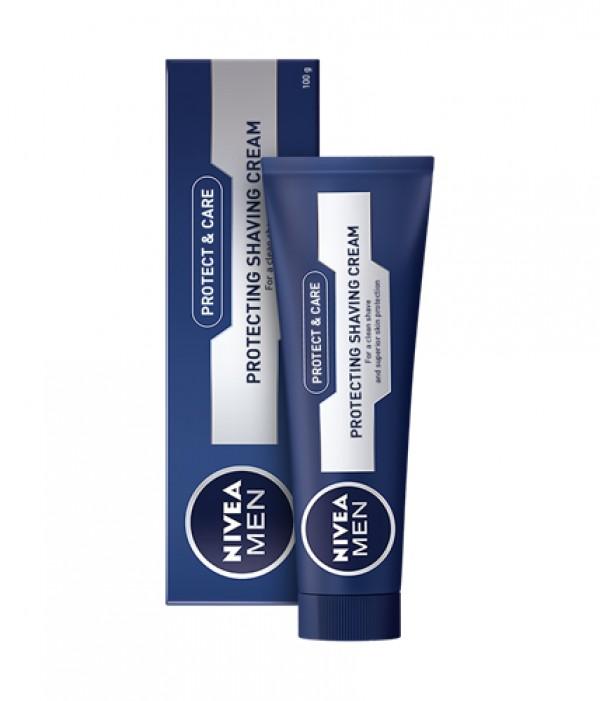 NIVEA MEN krema za brijanje 100ml-PROTECT&CARE