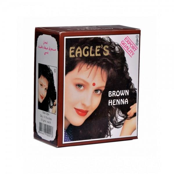 Eagle's kana za kosu 10g x 6kom. Brown