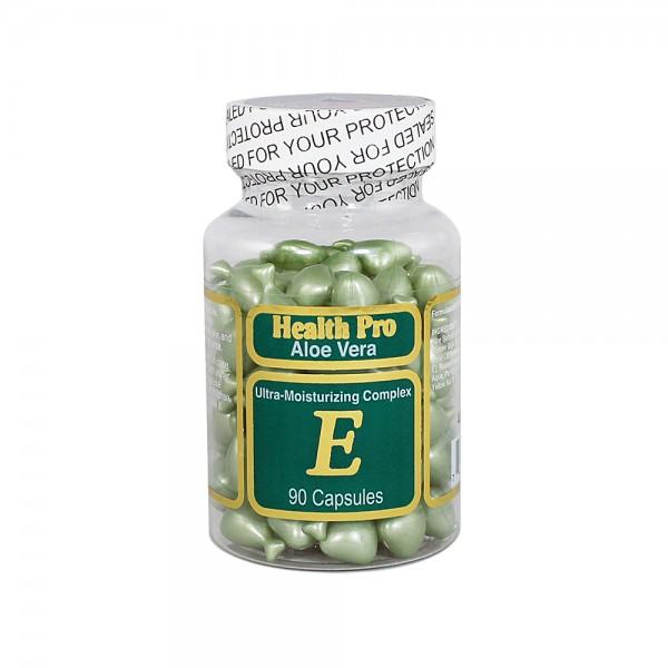Vitamin E Oil skin kapsule Aloe Vera 90 kom
