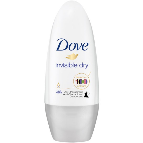 Dove roll-on 50ml W Invisible Dry